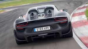 porsche 918 spyder black wallpaper. 2013 porsche 918 spyder concept rear wallpaper black c