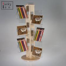Wooden Greeting Card Display Stand Amazing 32'' Wood Acrylic Display Rack Acrylic 32 Pocket Card Display
