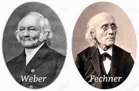 Resultado de imagen de Ley de weber fechner