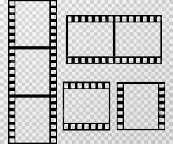 Film Picture Template Film Photo Frame Vector Template Isolated On Transparent
