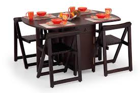 Kitchen Furniture Online India Buy Folding Dining Table Set Online 4 Seater Wooden Dining Set