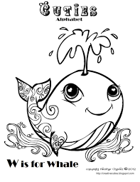 Small Picture Coloring Pages Simple Cartoon Whale Coloring Page Free Printable