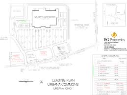 urbana oh urbana commons retail space for lease rg properties siteplan