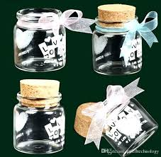 small glass bottles with cork bottle transpa high wedding cans wishing personal custom tiny stoppers