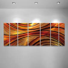 inferno x large modern abstract metal wall art sculpture