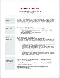 Objectives For Resumes It Resume Objective For Server Summary Examples 79
