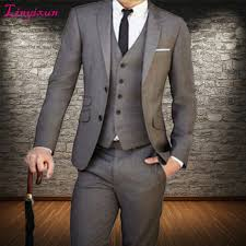 Linyixun <b>Custom Made 3 pieces</b> Men Suit, Tailor Made Suit ...