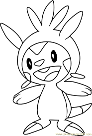 Small Picture Chespin Pokemon Coloring Page Free Pokmon Coloring Pages