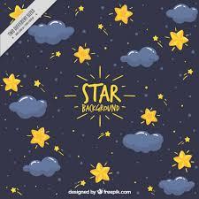 dark blue background stars. Delighful Background Dark Blue Background With Stars And Clouds Free Vector In Blue Background Stars K