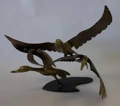 Bob Gerdes, Steel Sculpture, Geese in Flight - Jul 18, 2013 ...