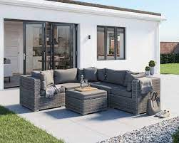 grey 6 piece corner sofa set florida