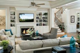 living room furniture ideas with fireplace. Cool Ideas For Mounting A TV Over Fireplace In The Living Room : Living  Room Furniture With