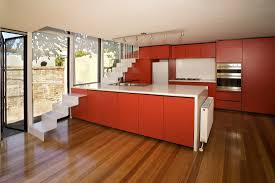 Orange Kitchens Minimalist Kitchen Design Ideas Minimalist Modern Kitchen Design