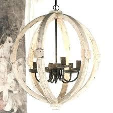 globe shaped chandelier