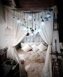 bridal room decoration with net