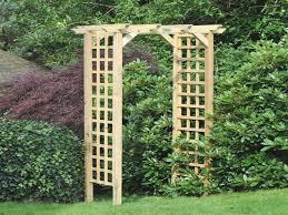 design ideas wooden garden arch awesome m m coppice wooden trellis garden arch internet gardener wood