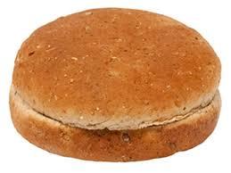 100 whole wheat hamburger bun