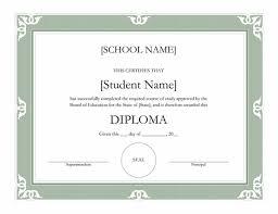 high school diploma name high school diploma certificate fancy design