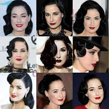 beauty and style icon dita von teese