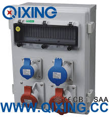 electrical power box.  Electrical Industrial Socket Combination Power Box Electrical Enclosure For Box