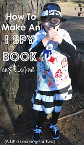 i spy book costume