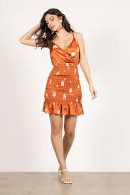 Floral Dresses | Long Floral Dress, <b>White Floral Print</b> Dress | Tobi