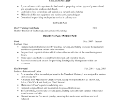 Cook Resume Unbelievable Line Cook Resume Samples Objective Lead Sample Skills 50