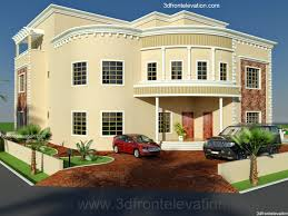 3d Front Elevation Com Oman New Arabian Villa Plan Design Duplex