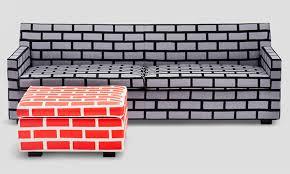bricks furniture. Brick-upholstered-furniture-established-sons-1.jpg Bricks Furniture