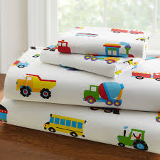 Train Bedding with Trucks Airplanes Twin or Full/Queen Comforter ...