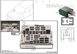 vehicle electrical system bmw x1 e84 x1 18dx n47n europe relay for wiper 1 k36