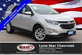 Certified 2018 Chevrolet Equinox LT FWD 4dr w/1 For Sale in Houston ...