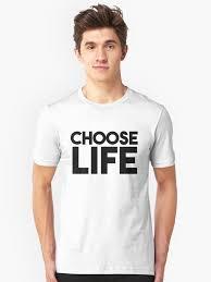 george michael wham choose life. Brilliant Michael WHAM George Michael CHOOSE LIFE Tshirt U0026 More Unisex TShirt Front And Wham Choose Life