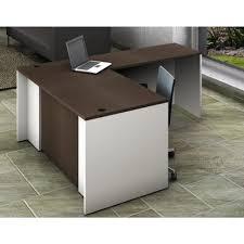 office reception table. Simple Reception OfisLITE 2Piece WhiteEspresso Office Reception Desk Collaboration Center To Table