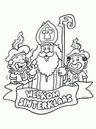 40 Gratis Te Printen Sinterklaas Kleurplaten Topkleurplaatnl