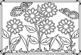 Small Picture Coloring Page Garden Coloring Pages Coloring Page and Coloring