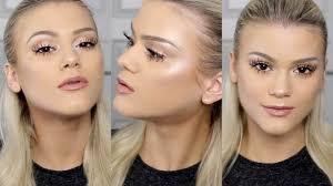 glowing fresh spring makeup tutorial