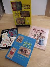 4 books 1980 82 84 90 collectors guides to paper dolls mary young