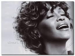 whitney black white. Whitney Houston Black White Abstract Art Prints On Canvas 0012 T