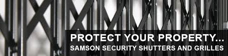 security grilles retractable security