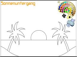Small Picture Sunset Coloring Pages For Kids Sunset Coloring Pages YouTube