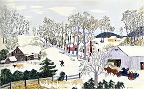 early springtime on the farm oil by grandma moses anna robertson 1860 1961 united states