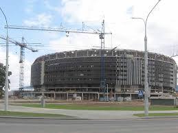 Строительство Минск Арена Минск Арена Спортивные  Фотография Фото Минск Арена Спортивные сооружения в Минске Строительство спортивного комплекса