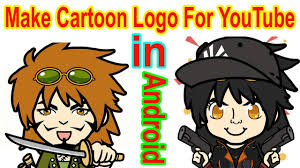 how to create avatar cartoon logo for you gaming channel animated anime