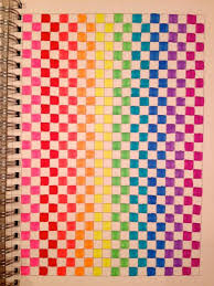 patterns to draw on graph paper square drawing paper clipartxtras