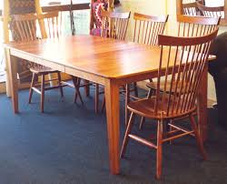 shaker dining room chairs cherry shaker table boulder furniture arts