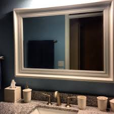 framed bathroom mirrors. Frame Bathroom Mirror Ideas Framed Mirrors G