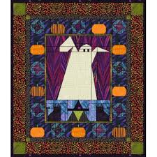Happy Haunting   Cat quilt patterns, Ghost pumpkin and Witch cat & Free Halloween (ghost pumpkin witch cat) Quilt Pattern for EQ7 EQ6 or Quilt  Design Adamdwight.com