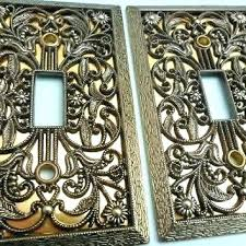Antique Brass Wall Plates Awesome Brass Light Switch Covers Brass Wall Plates Stone Switch Plates And