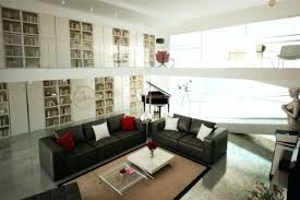 medium of unique living room decorating ideas brown black red lounge design with dark leather furniture